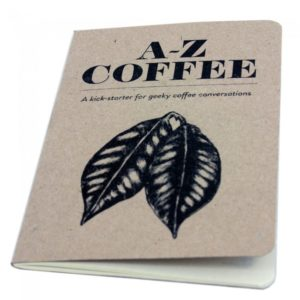 a-z coffee book for all coffee fan