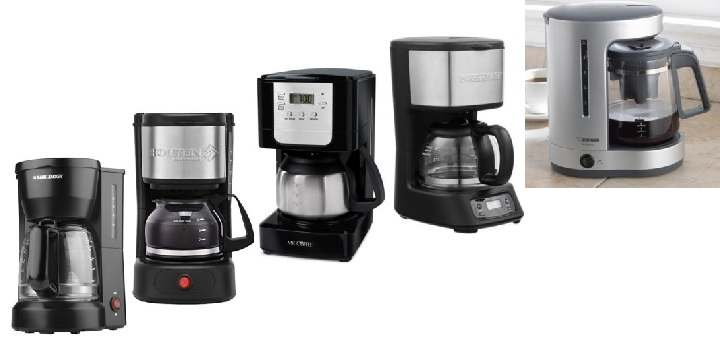 Which is the best 5-cup coffee maker? Read our reviews