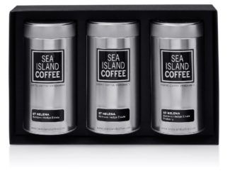 luxury coffee gifts st helena ground coffee