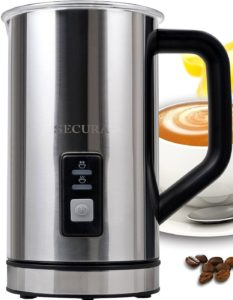 secura milk frother review