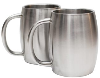 Avito Stainless Steel Mugs with Handle to have great hot coffee for long time