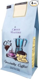 Coffee Masters Flavored Coffee, Cinnamon Hazlenut, Whole Bean