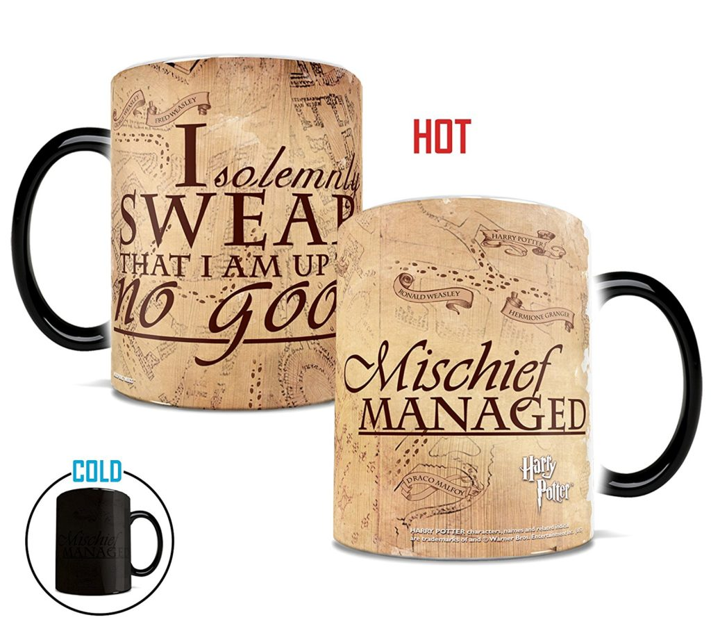 Harry Potter heat sensitive mug