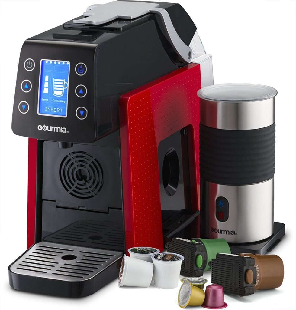 Review of the Gourmia GCM5000 Multi Capsule Coffee Machine