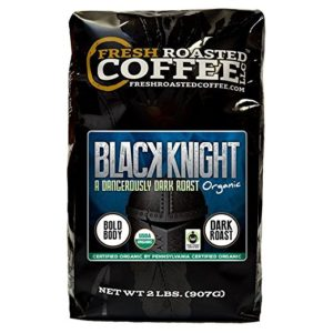 Top 10 dark roast coffees in the world - Black Knight five place