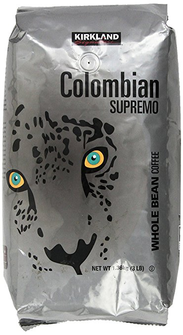 Kirkland Signature Colombian Supremo Whole Bean Coffee Review