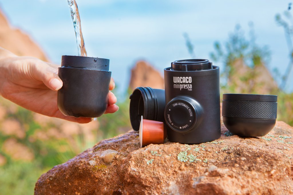 Minipresso NS Review - Perfect portable espresso machine for nespresso lovers