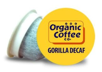 Gorilla decaf - best organic k cup decaf coffee