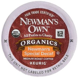 Newman's Special Decaf Keurig Single-Serve K-Cup Pods