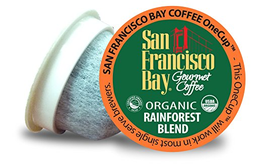 Organic Rainforest Blend - the best organic K-cup coffee
