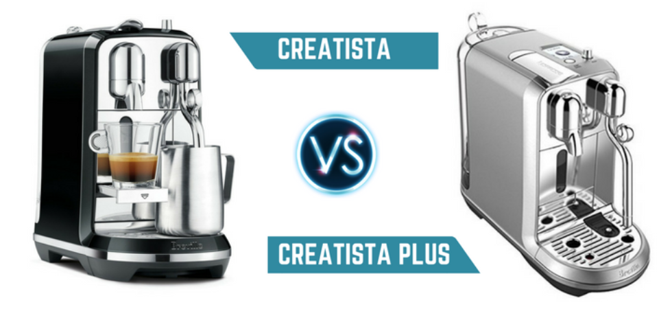 Difference Between Nespresso Creatista vs Creatista Plus