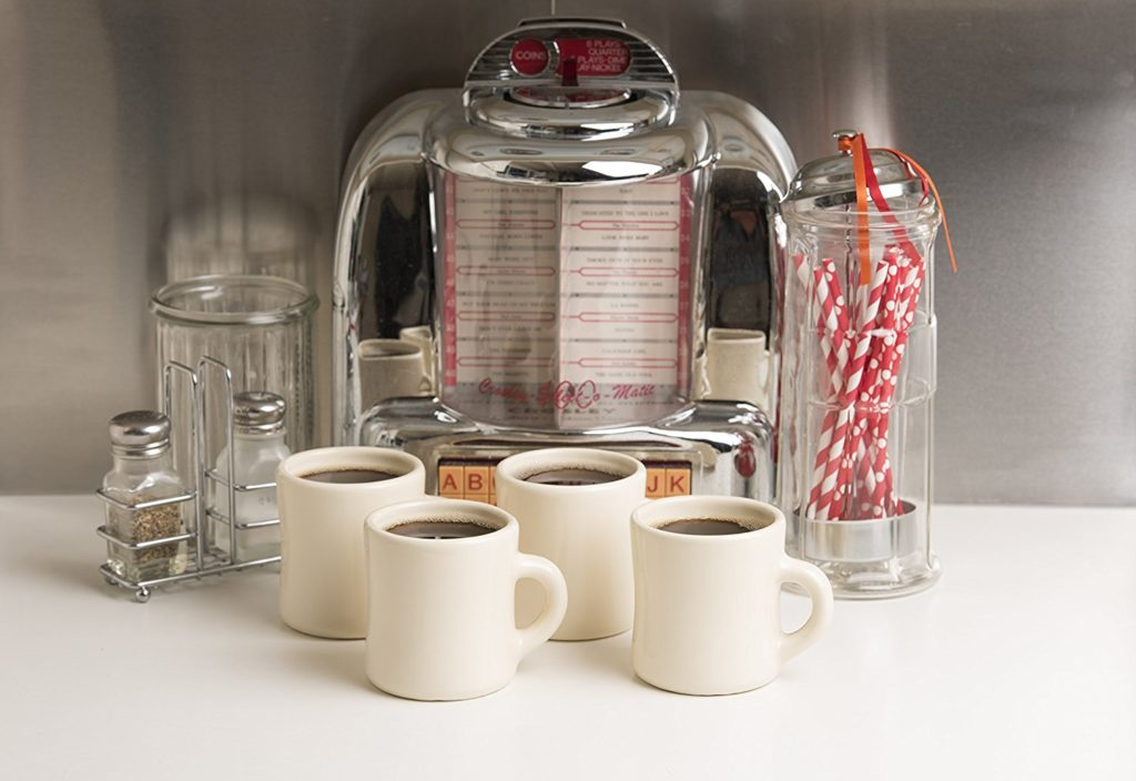 Diner coffee mugs made in USA