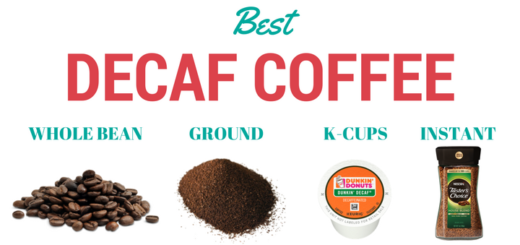 Best decaf coffee (whole bean, ground, K-cups and instant decaffeinated coffee)