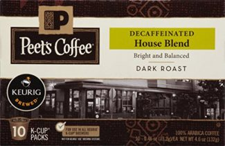 Best decaf k cups review Peets house blend