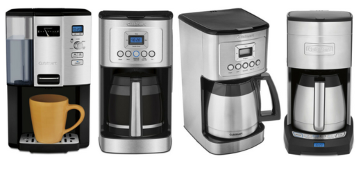 Difference between Cuisinart DCC-3000, DCC-3200, DCC-3400 and DCC-3750