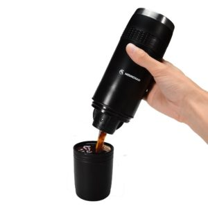 Inexpensive portable K-cup coffee maker - drink your favorite K-cups wherever you want