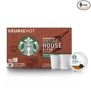 What is the best decaf k cups from Starbucks?