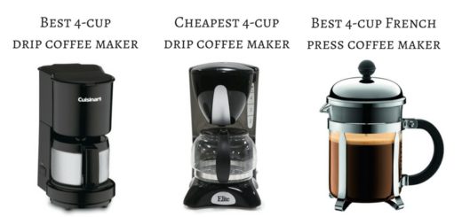 Which is the best 4-cup coffee maker? Read our reviews