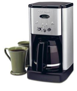 cuisinart dcc-1200 coffee maker quide