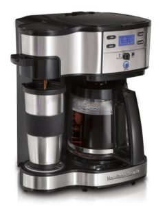 top rated Hamilton Beach coffee maker 49980a review