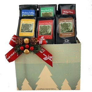 A perfect gourmet coffee gift basket