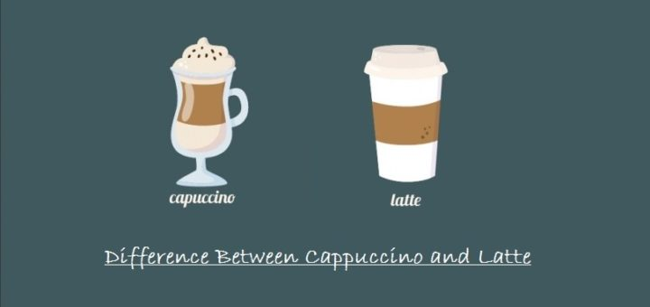 what is difference between Cappuccino and Latte