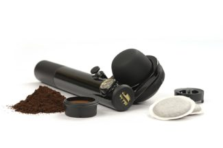 Handpresso Wild Hybrid portable coffee maker for camping for the car