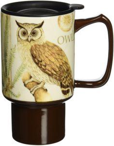travel mugs for owl lovers