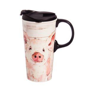 who loves pigs and coffee? We have gift for him