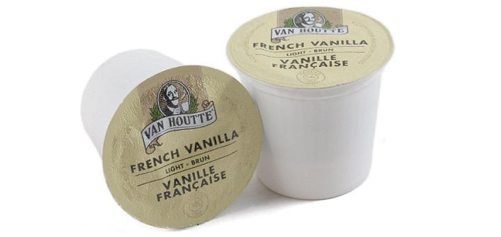 Van Houtte French Vanilla favorite K-cups
