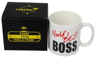 mug for boss man funny