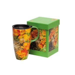 Best ceramic travel mugs for cat lovers