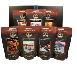 cool coffee gift beans set flavored