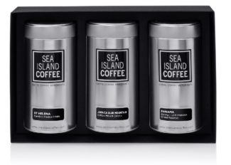 Luxury Coffee gifts - exotic coffees Saint Helena coffee beans