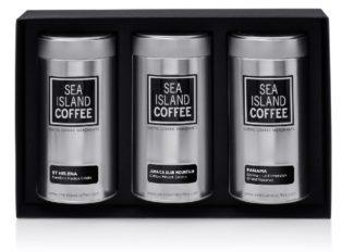 Luxury Coffee gifts - exotic coffees Saint Helena coffee beans