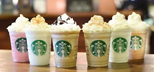 what types of frappuccinos are there