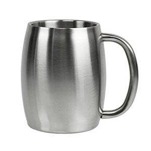 Top coffee mug insulated