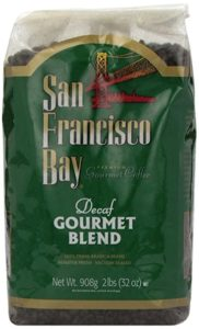 San Francisco Bay Coffee Decaf Gourmet Blend Whole Bean