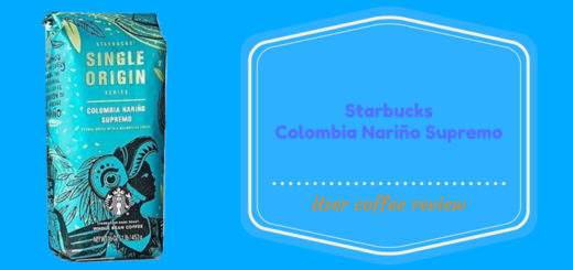 Starbucks Colombia Narino Supremo Whole Bean Coffee Review