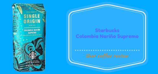 Starbucks Colombia Narino Supremo Whole Bean Coffee Review