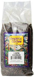 The Organic Coffee Co., Sumatra Mandheling- Whole Bean