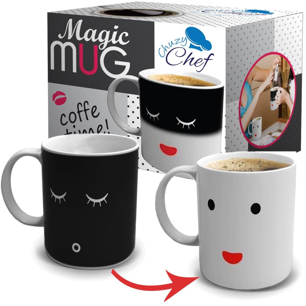 Magic Color and Face Changing Ceramic Coffee Mug