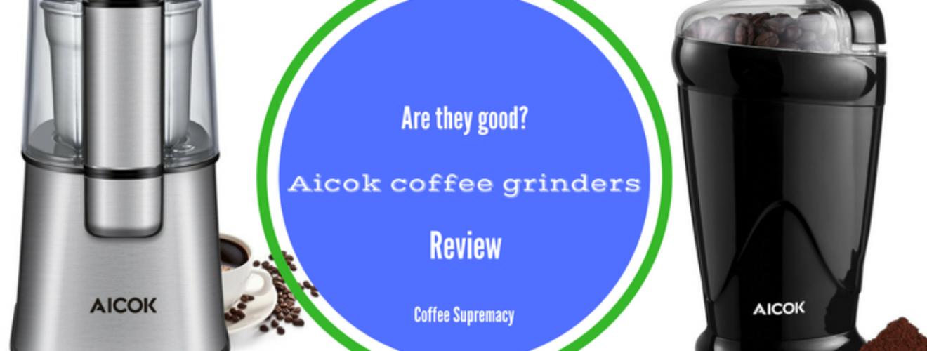 Aicok coffee grinder reviews