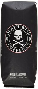 The best dark roast coffee Death Wish whole bean