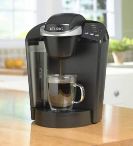 K55 Smallest Keurig Brewer with water reservoir