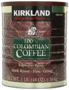 Kirkland Columbia Coffee Review
