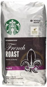 Starbucks French Roast second place in Best dark roast whole bean coffee