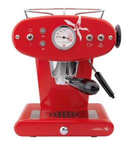 We review illy coffee machine Francis Francis