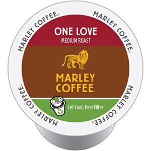 Organic Marley k cups coffee