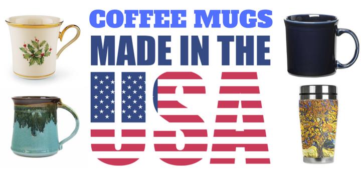 Coffee mugs made in USA